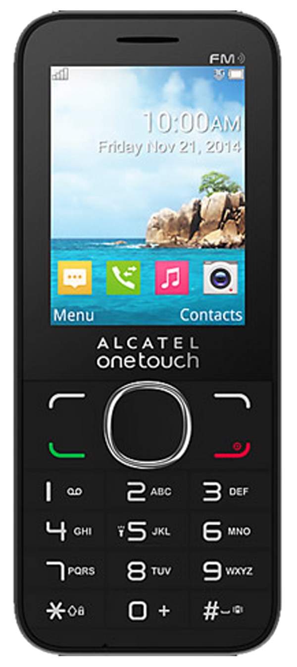 Alcatel 2012G (OT-2012G) Refurbished and SIM Unlocked, Alcatel, , alcatel-2045x-ot-2045x-network-unlocked, brand_alcatel, cellphone, colour_black, memory_4GB, mobiles, re-used electronics zon