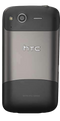HTC Desire S smartphone back in black and grey
