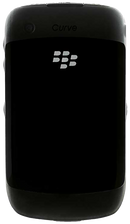 Blackberry Curve 8520 smartphone back in black