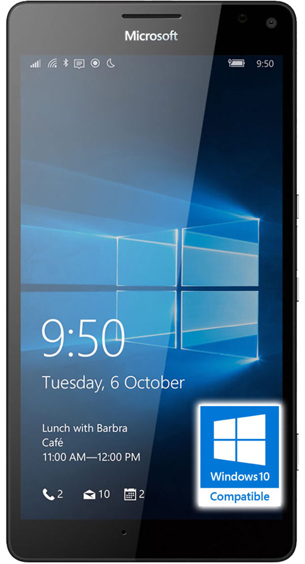Microsoft Lumia 950 XL Refurbished and SIM Unlocked, Microsoft, , microsoft-lumia-950-xl-network-unlocked, brand_microsoft, colour_black, ipadtabletlaptop, memory_32GB, reconditioned, ruezone