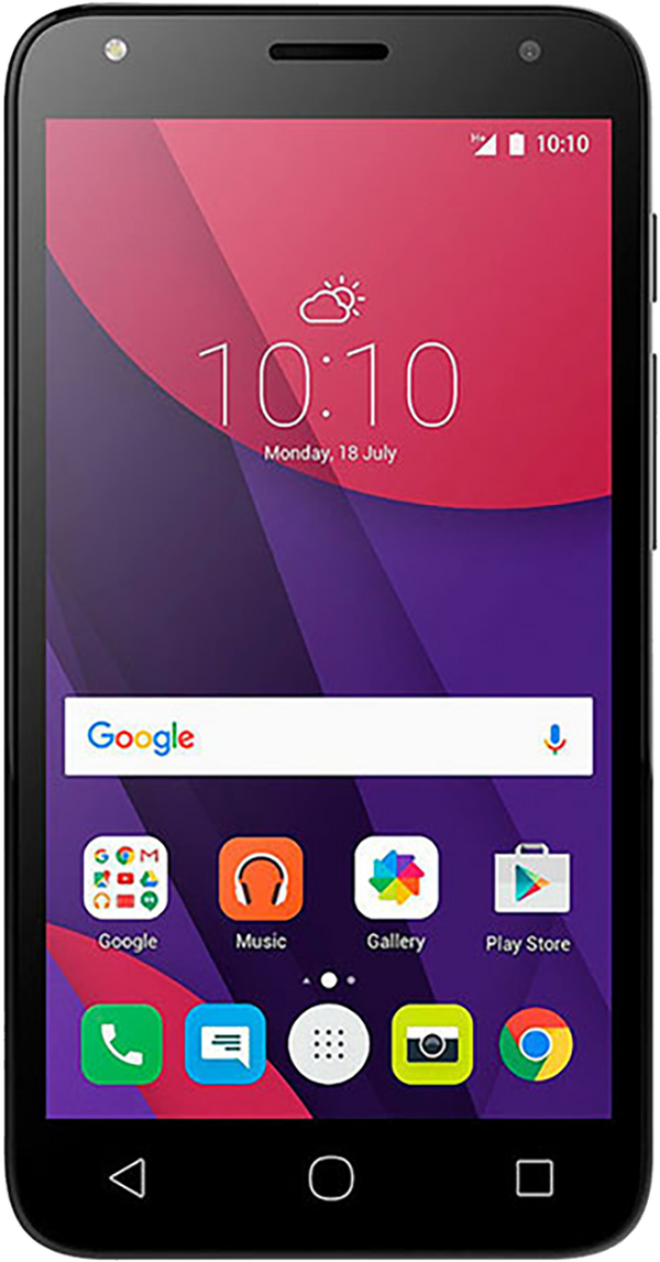Alcatel Pixi 4 (5 OT-5045X) Refurbished and SIM Unlocked, Alcatel, , alcatel-pixi-4-5-ot-5045x-network-unlocked, brand_alcatel, cellphone, colour_black, memory_8GB, mobiles, re-used electroni
