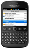 Blackberry 9720 smartphone front screen with keyboard buttons