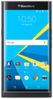 Blackberry Priv smartphone front screen curved edge