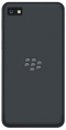 Blackberry Z10 smartphone back in dark grey