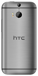 HTC 8S Windows smartphone back in dark grey