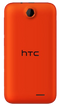 HTC Desire 310 smartphone back in red