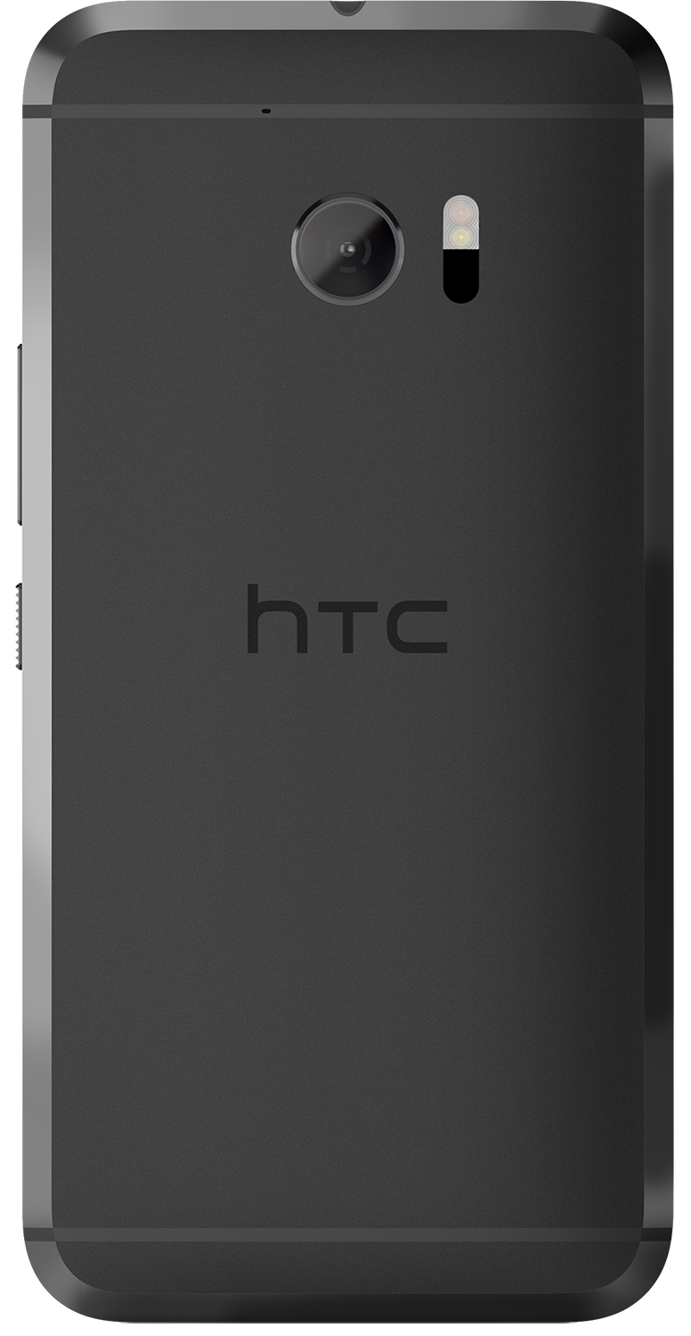 HTC 10 smartphone back in black