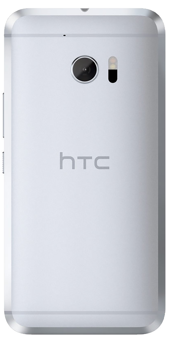 HTC 10 smartphone back in white