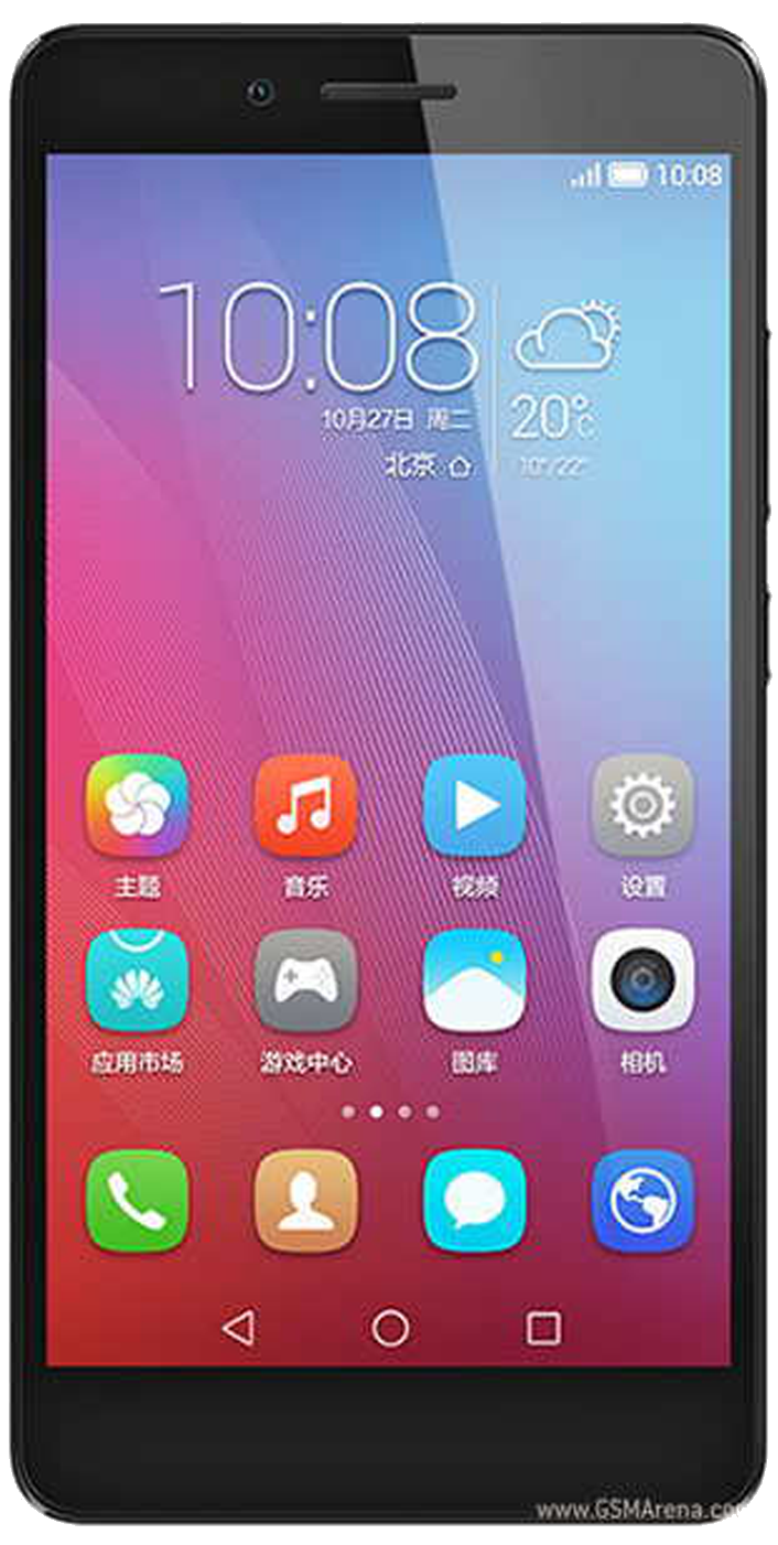 Huawei Honor 5X front screen