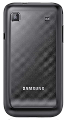Samsung Galaxy S Plus (GT-I9001) smartphone back in black