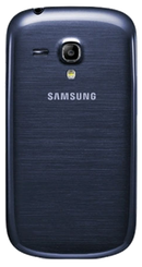 Samsung Galaxy S3 Mini (GT-I8190N) smartphone back in black