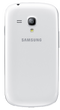 Samsung Galaxy S3 Mini (GT-I8190N) smartphone back in white