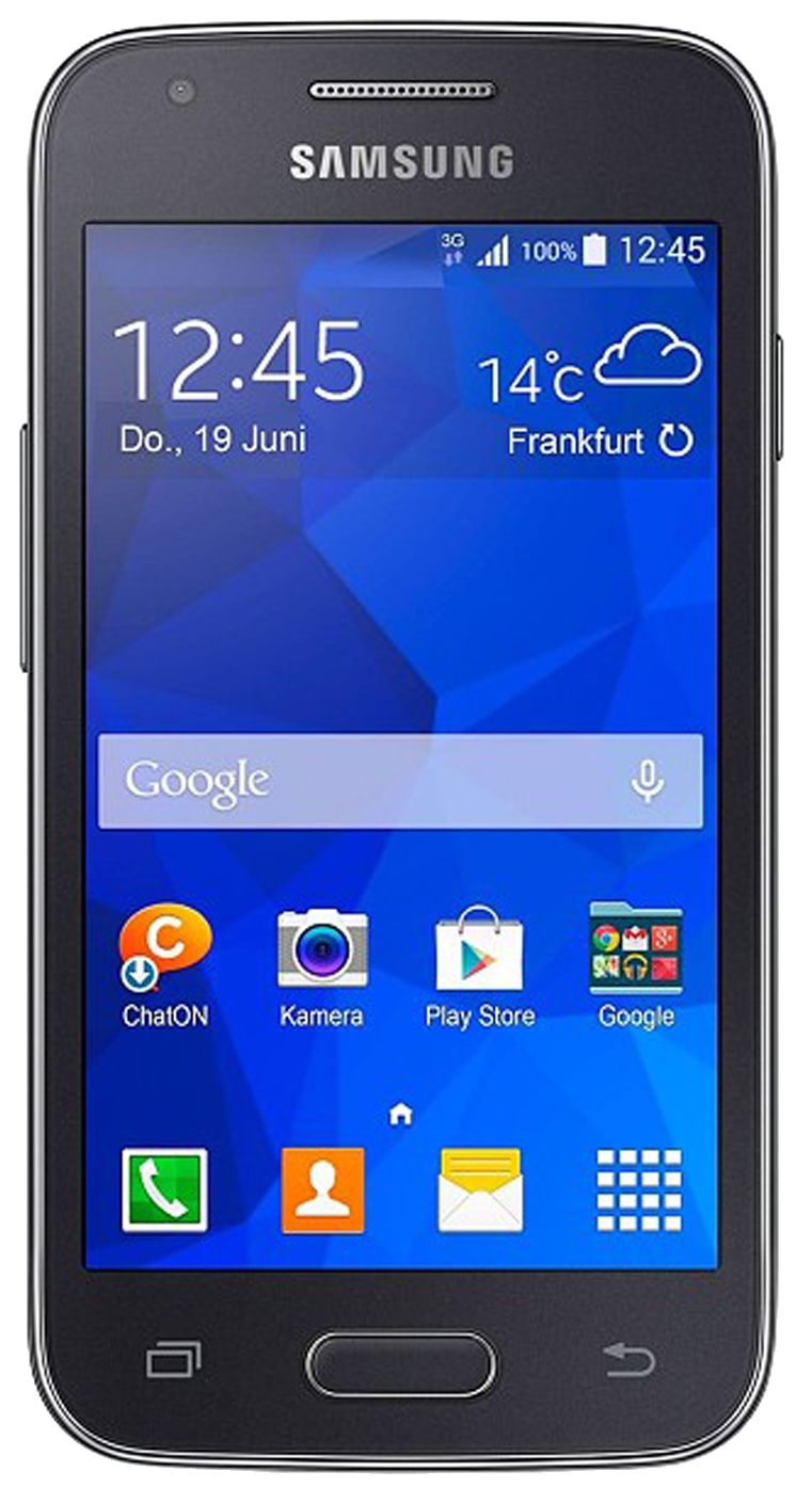 Samsung Galaxy Trend 2 (SM-G313HN) smartphone front screen