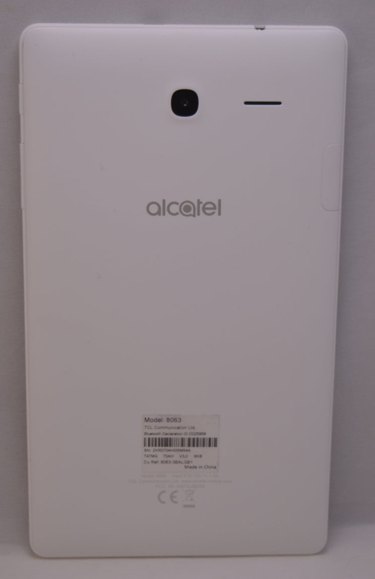 "Alcatel Pixi 4 8063-8GB Tablet (White) - 7"" Quad Core@1.3GHz, 1GB Ram, Android, Alcatel, , alcatel-pixi-4-8063-8gb-tablet-white-7-quad-core-1-3ghz-1gb-ram-android, ipadtabletlaptop, tablet, r"