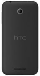HTC Desire 510 smartphone back in black