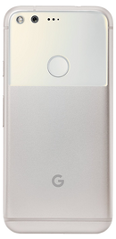 Google Pixel XL smartphone back in white