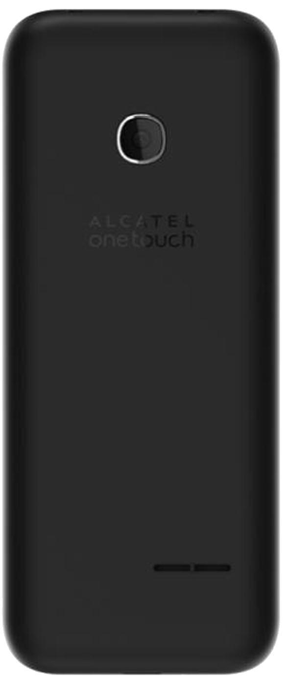 Alcatel 2045X (OT-2045X) mobile phone back in black