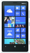Microsoft Lumina 920 in white phone front screen