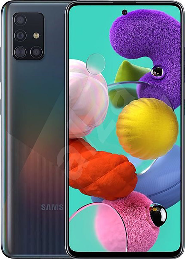 Samsung Galaxy A51 Smartphone Unlocked Used and Refurbished, Samsung, , samsung-galaxy-a51-smartphone-unlocked-used-and-refurbished, colour_prime crush black, colour_prime crush blue, colour_