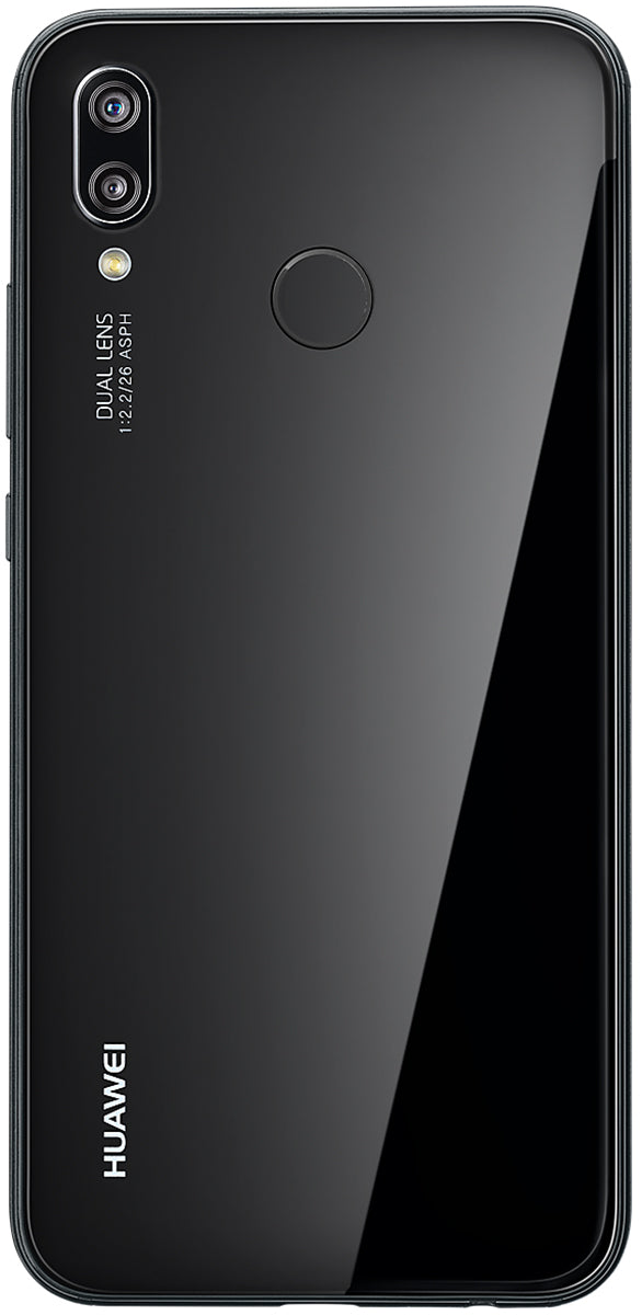 Huawei P20 Lite Ane Lx1 Touch Screen Sim Free Unlocked Android Smartphone Midnight Black