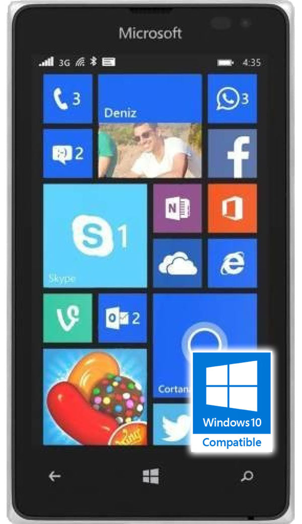 Microsoft Lumia 532 Refurbished and SIM Unlocked - Windows 10, Microsoft, , microsoft-lumia-532-network-unlocked, brand_microsoft, colour_white, memory_8GB, reconditioned, ruezone, tag__tab1: