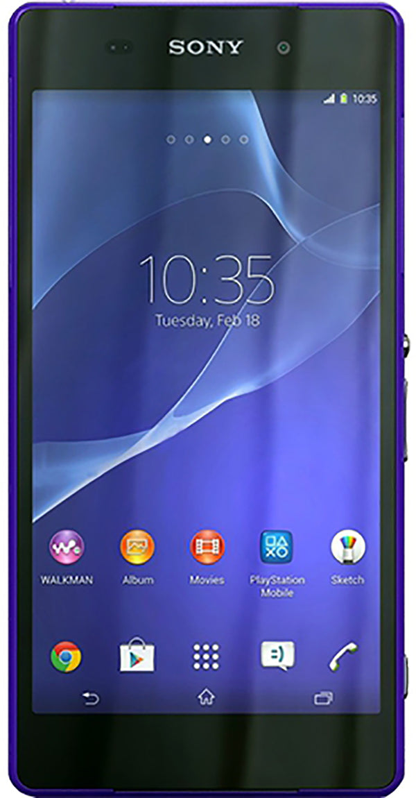 Sony Xperia Z2 (D6503) Smartphone Unlocked SIM FREE 16gb, SONY, , sony-xperia-z2-d6503-waterproof-dust-proof-smartphone-unlocked-sim-free-16gb, brand_sony, buy sony, colour_purple, colour_whi
