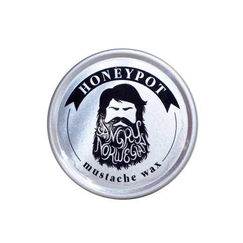 Angry Norwegian Honeypot Mustache Wax 15gr