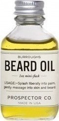 Prospector Co. Burroughs Beard Oil 30ml