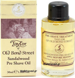 Taylor of Old Bond Street Pre-Shave Sandalwood Oil 30ml