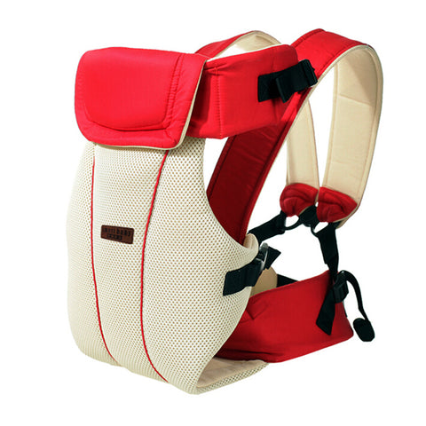 4933d72e965 2-30 Months Breathable Multifunctional Front Facing Baby Carrier Infant Baby  Sling Backpack Pouch Wrap