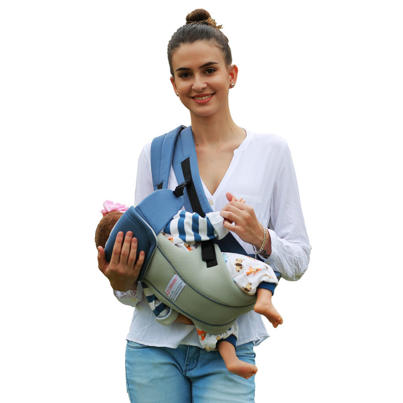 1710ff07919 ... 2-30 Months Breathable Multifunctional Front Facing Baby Carrier Infant Baby  Sling Backpack Pouch Wrap ...