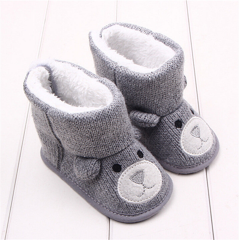BABY SNOW BOOTS - GREY