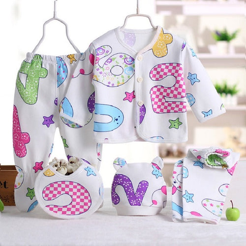 NEWBORN BABY GIFT SET - NUMBERS