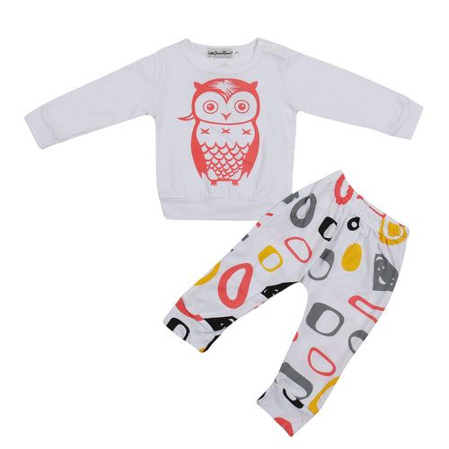OWL CLOTHING SET - SHIRT + PANTS