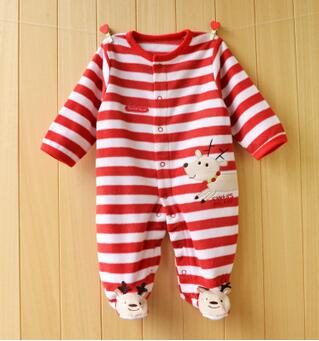 NEWBORN CHRISTMAS ROMPER - DEER