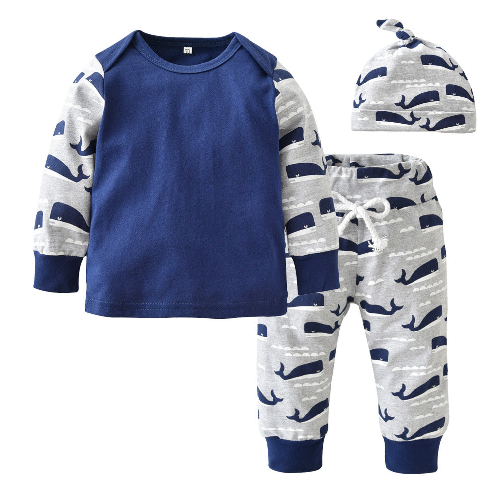BABY WHALE CLOTHING SET
