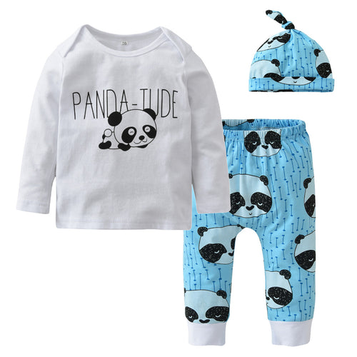 PANDA BABY CLOTHING SET