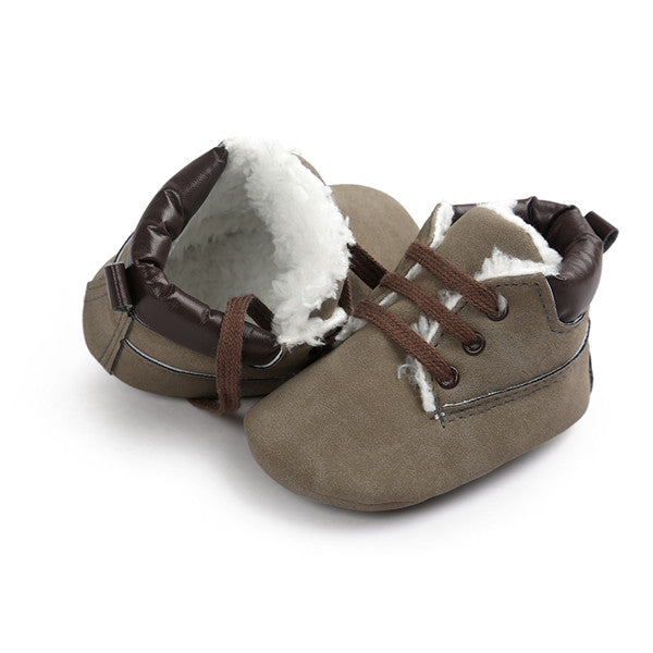 AUTUMNWINTER BABY SHOES - GRAY