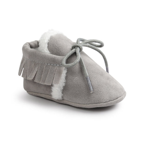AUTUMN/WINTER BABY SHOES - GREY