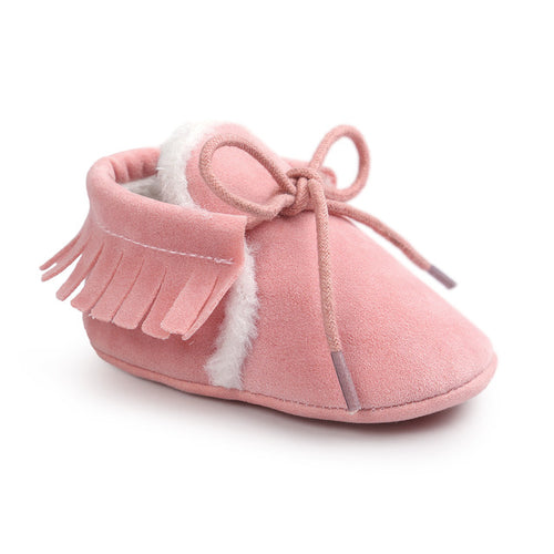 AUTUMN/WINTER BABY SHOES - PINK