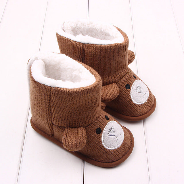 BABY SNOW BOOTS - BROWN