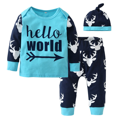 CHRISTMAS BABY BOY CLOTHING SET