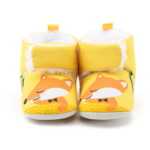 WINTER FOX BABY BOOTS