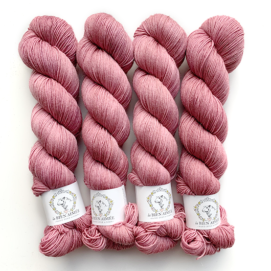BFL Tough Sock bois de rose