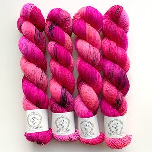 BFL Tough Sock pinku graffiti