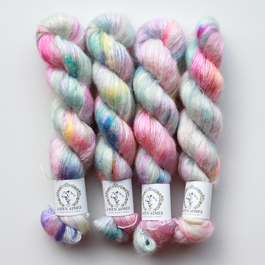 Mohair Silk tickle