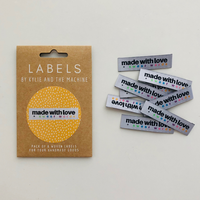 Label, Made with love and swear words