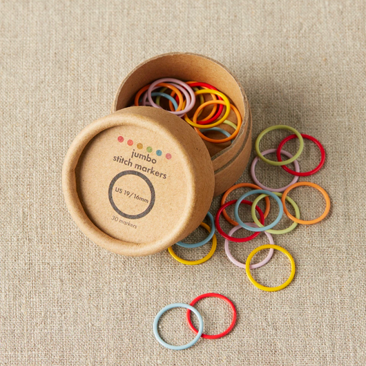 Cocoknits Opening Colored Stitch Markers, jumbo
