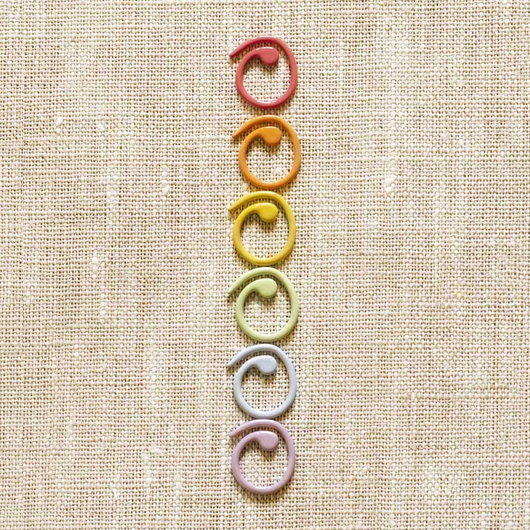 Cocoknits Colored Open Stitch Markers