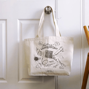 Fringe Supply Co. Knitting neccesities tote bag